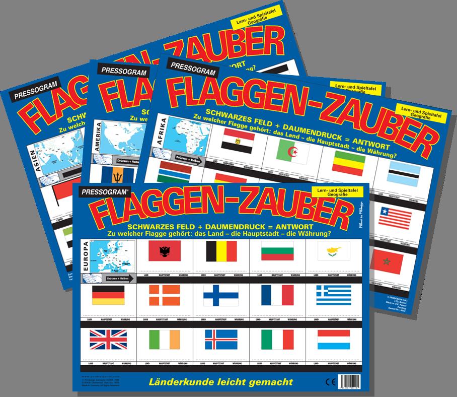 PRESSOGRAM Flaggen Zauber